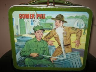 Vintage Metal Lunch Boxes Gomer Pyle