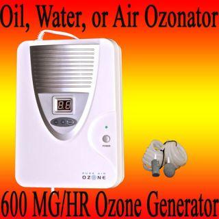600 MG H Ozone Generator Air Water Oil Ozon Ozonator
