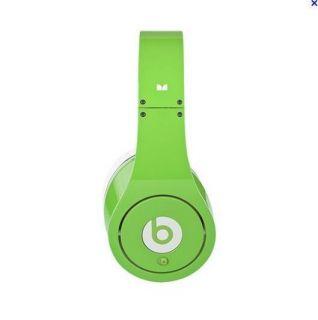 Green Monster Beats by Dr Dre Studio Headphones