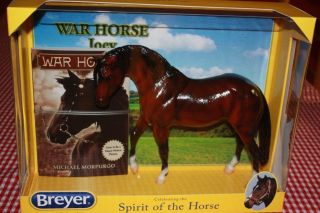 Breyer War Horse Joey Glossy 100 Pce Christmas Giveaway New in Box