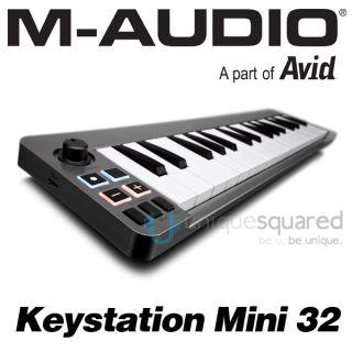 Audio Keystation Mini 32 Key Portable MIDI Controller Keyboard