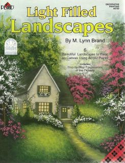 Lynn Brand Light Filled Landscapes Painting Book