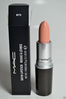 MAC SATIN Lipstick MYTH New in the BOX Authentic MAC cosmetics 3g 0