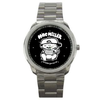 Mac Miller Knock Knock Sport Metal Watches New
