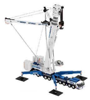 NZG Roxu Liebherr LTM 11200 9 1 Mobile Crane 1 50 Brand New