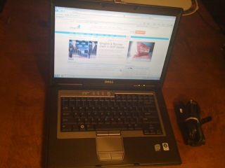 Dell Latitude D830 Core 2 Duo 2.00GHz //250 Gig HDrive/ Windows 7/ MS