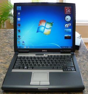 Dell Latitude D530 Laptop Fast Core 2 Duo DVDRW 2GB RAM 160GBHD