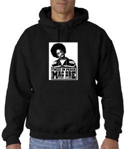 Mac Dre Thizz in Peace Hoodie Hip Hop Cali New SM 3XL