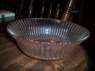 Macbeth Evans Pink Petalware Large Berry Bowl