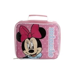 Minnie Mouse Disney Official Lunch Bag Box Insulated