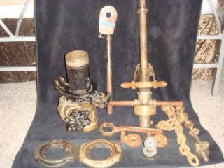 Mueller B 1 Water Main Tapping Machine Tool Steampunk Industrial Art