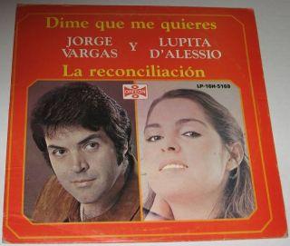 Lupita DAlessio Y Jorge Vargas Dime Que Me Quieres LP