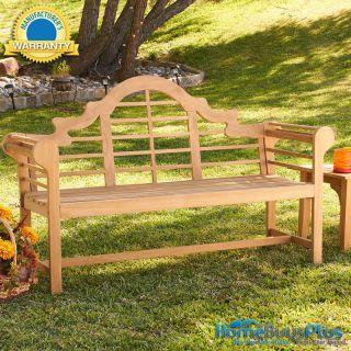 Teak Wood Lutyens Bench Pool Patio Outdoor Garden Sun Room 2012