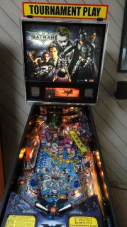 2008 Stern Batman The Dark Knight Pinball Machine Home Use Only
