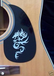 Guitar Pick Guard Decal Dragon Vinyl Decal Sticker