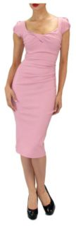 Stop Staring Dress Billion Dollar Baby Pink Mad Men Style New