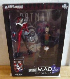 Batman Mad Love Harley Quinn Joker Toy Figure Statues Animated Cartoon