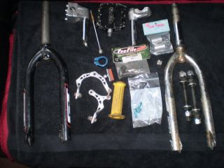 Big Lot Old Mid School BMX Parts GT Profile TUF Neck Scott