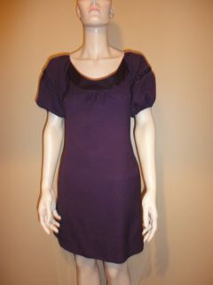 Maeve Anthropologie Plum Purple Rayon Blend Dress 0 XS