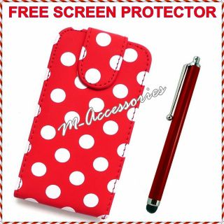 Flip PU Leather Case Cover Pouch for All Major Mobile Phones