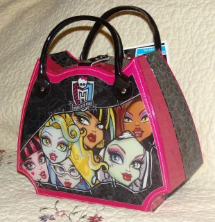 Monster High Doll Make Up Kit Set Bag Accessories Cosmetic Case Scary