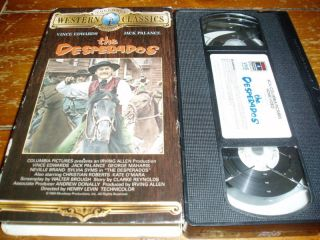 The Desperados VHS Jack Palance Vince Edwards G Maharis