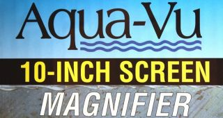 Aqua Vu Under Water Camera 10 inch Screen Magnifier New