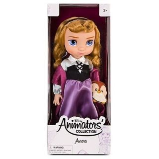 Disney Animators Aurora Princess Toddler Collection Doll 16