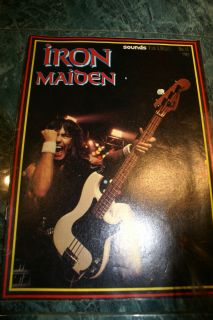 IRON MAIDEN SOUNDS SPECIAL FAN LIBRARY ED NO.11 UK IMPORT RARE NWOBHM