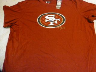 1119 Womens NFL Apparel San Francisco 49ers Big Logo Football Jersey