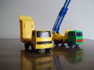 Maisto Dump Truck Ladder Truck