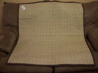 New Nursery Baby Chic Quilt Blanket Gift Leopard Print