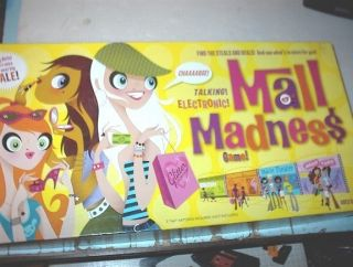 MALL MADNESS ELECTRONIC TALKING SHOPPING GAME COMPLETE WORKS PERFECTLY