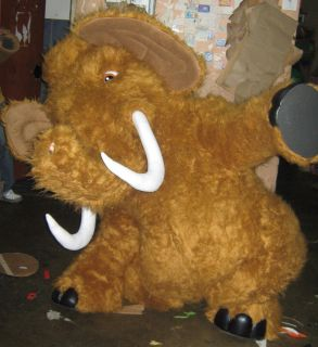 Mammoth Mascot Costume Adult Character Costume