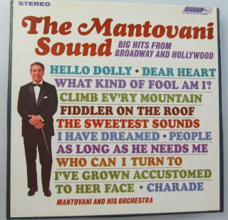 Mantovani His ORCH The Mantovani Sound Big Hits Reel to Reel Tape 7 1