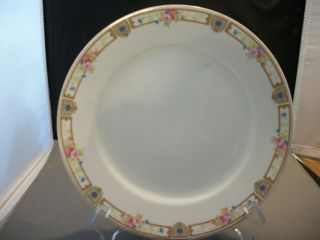 Noritake Carmen China Luncheon Plates Japan Gold Mark
