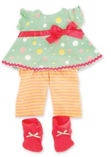 Manhattan Toy Baby Stella Doll Pretty Party Outfit