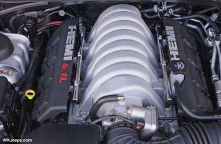 Challenger Charger Magnum SRT8 6 1 Hemi Engine and Transmission 51K