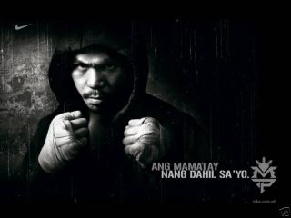 Manny Pacquiao Very RARE Boxing Poster