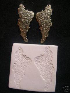 Fairy Angel Wings Filigree Polymer Clay Push Mold