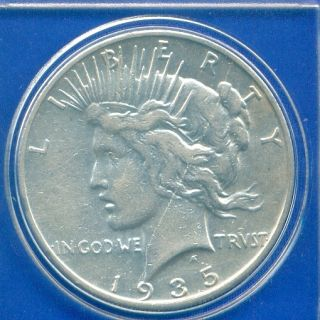 1935 S Peace Silver Dollar Rare Date High Grade PQ Stunner US Mint