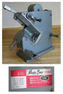 3M COMMERCIAL MAGIC BOW TYER S 10 BOW RIBBON MAKER MAKING MACHINE