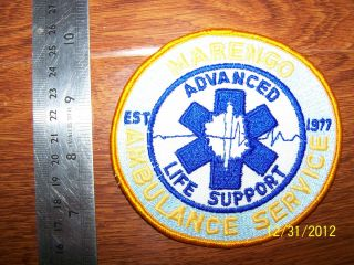 Marengo Ambulance Advanced Life Support ALS EMT EMS Paramedic IA WI IL