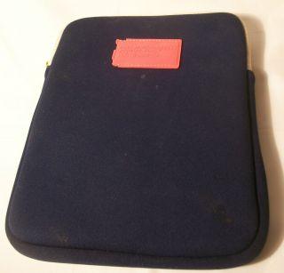 Marc Jacobs Neoprene Navy iPad Case