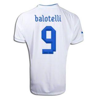 Puma Italy Mario Balotelli Away Jersey Euro 2012 Italia Calcio