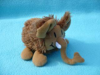 Mammoth Tot Plush Sonic Wacky Pack Wolly Animal Prehistoric 3