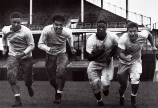 Browns Football Otto Graham Marion Motley Edgar Jones 16X10