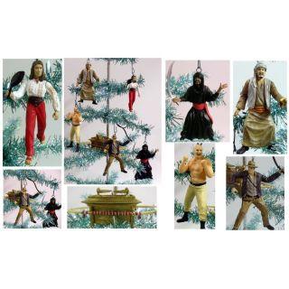 Jones Christmas Tree Ornaments Marion Ravenwood Sallah German Mechanic
