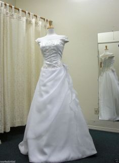 Mori Lee Bridal Wedding Gown Dress 8316 Sz 16