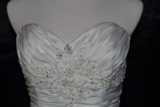 Casablanca Bridal Wedding Gown Dress 1927 Sz 12